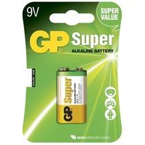 GP 9V blok Super alkaline blister 1