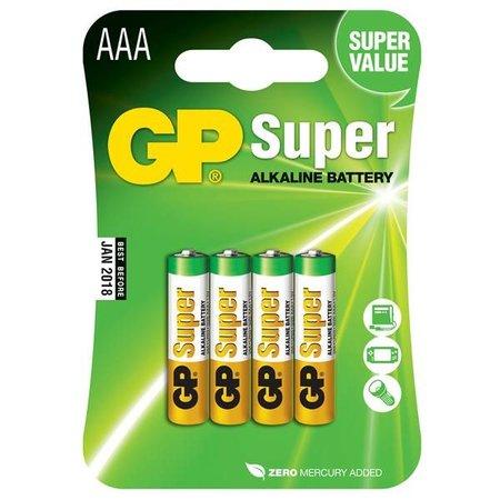 GP AAA  mini penlite 4 x Super alkaline GP