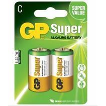C batterij Super alkaline GP