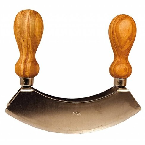 Arte Legno Herb cutting knife double bladed