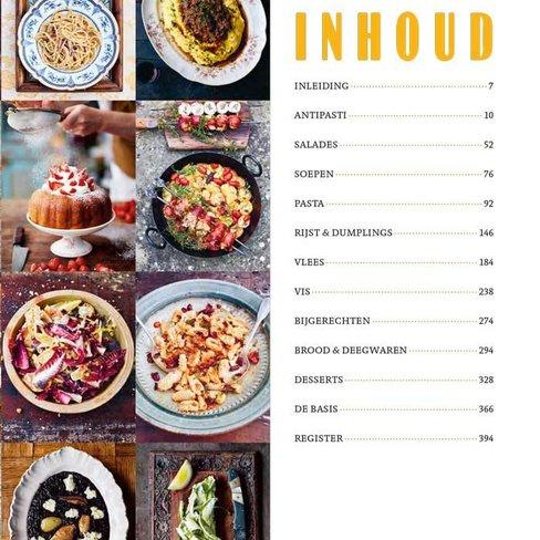 Boeken Jamie cooks Italy
