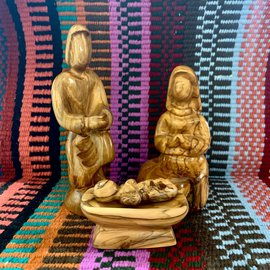 Desert Rose Holy family