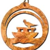 Desert Rose Ornament - ark van Noach in cirkel