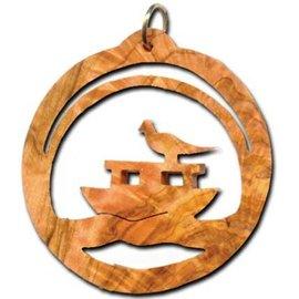Desert Rose Ornament - Noah's ark