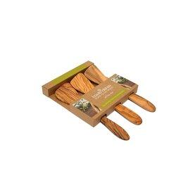 Pure olivewood Olijfhouten spatels