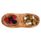 Bowls & Dishes Olive wood drink duo straight