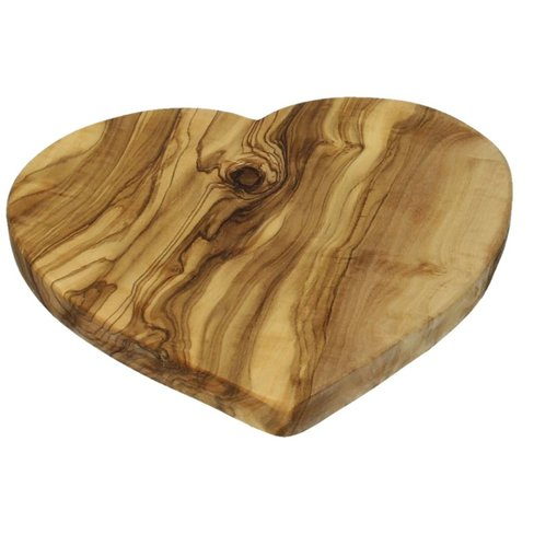 Arte Legno Appetizer board in the shape of a heart, 21cm