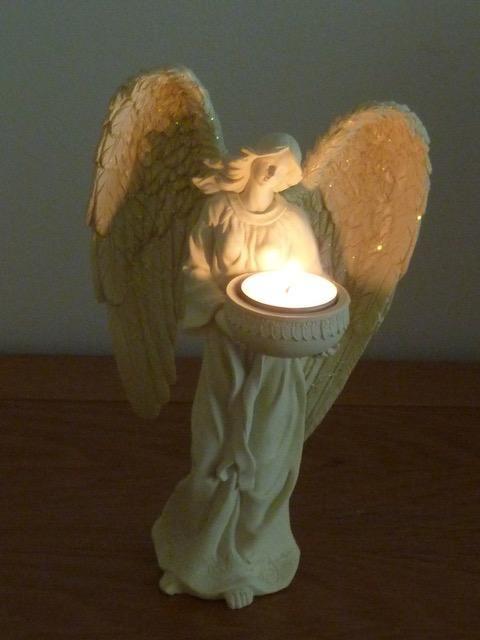 Engelen Theelichthouder