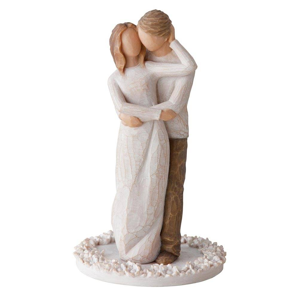 Willow Tree Cake Topper Together