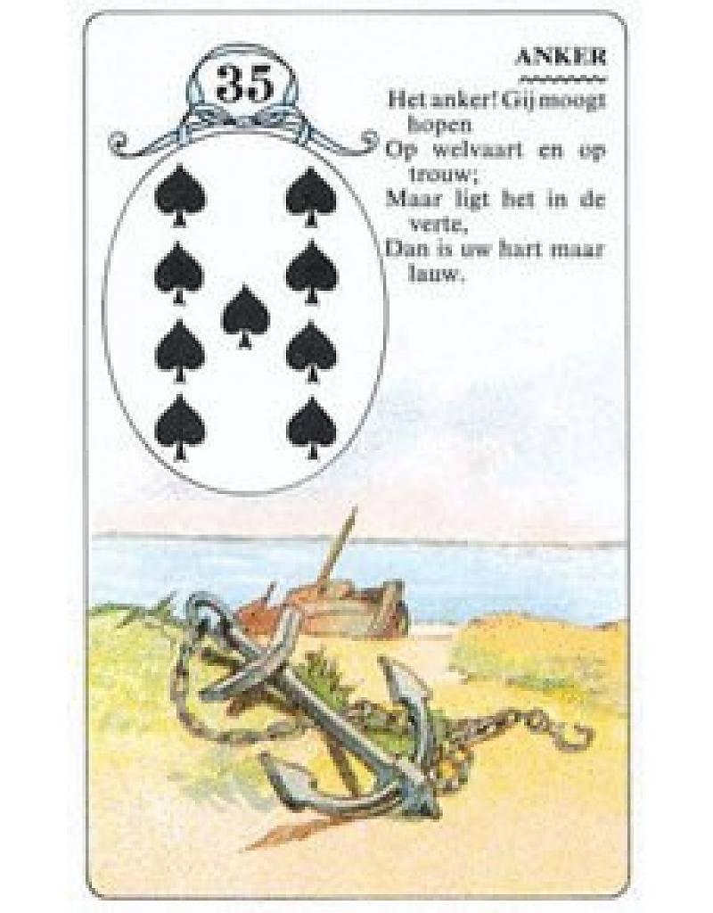 Lenormand waarzegkaarten + boek