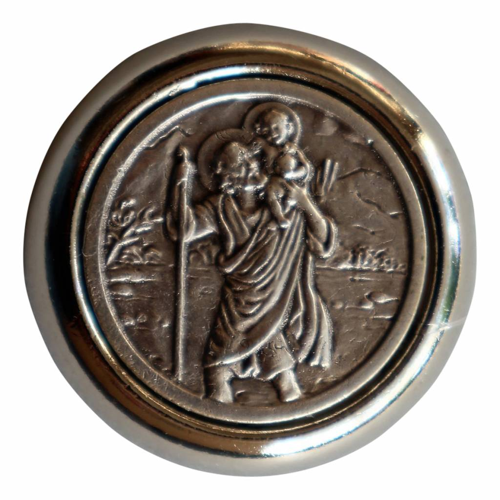 Christoffel automagneet rond
