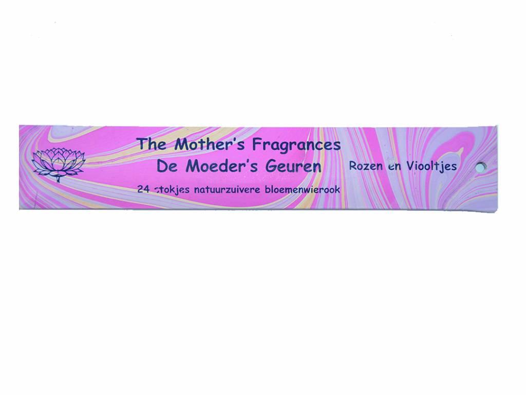 De Moeder's Geuren wierook - Rozen en viooltjes
