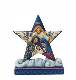 Jim Shore Holy Family Mini Star