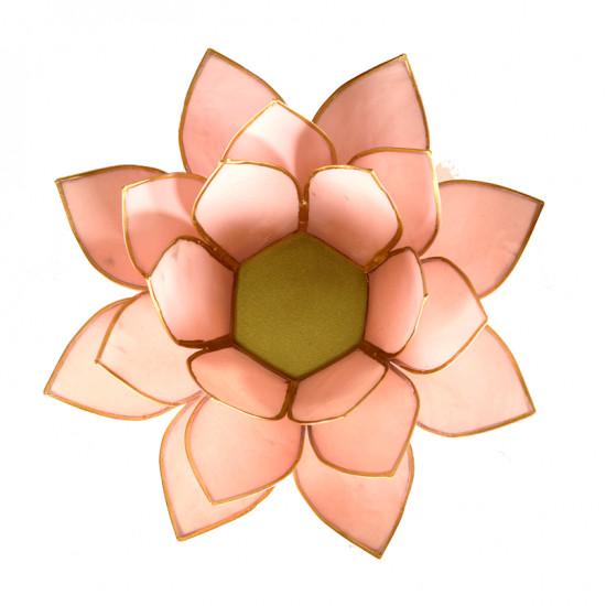 Lotus kaarshouder - pastel roze
