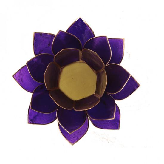 Lotus kaarshouder - violet