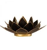 Lotus kaarshouder - zwart
