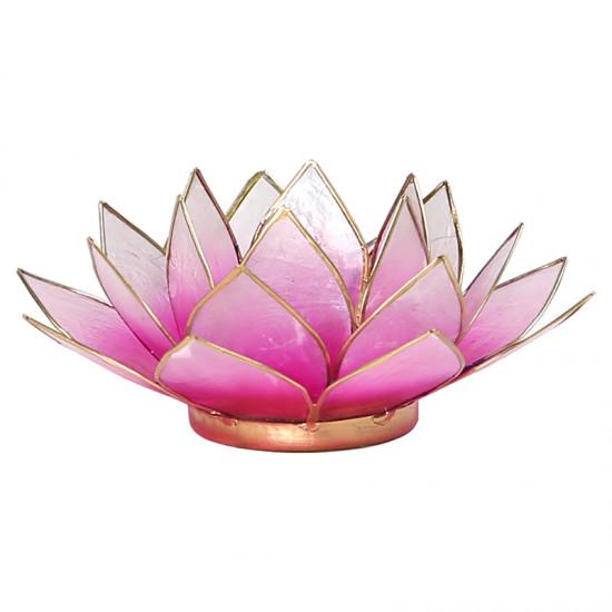 Lotus kaarshouder - roze
