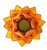 Lotus kaarshouder - oranje (groot)