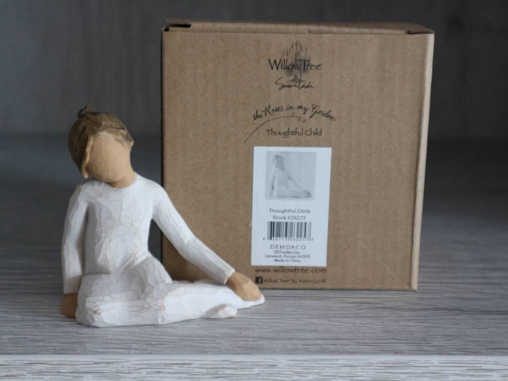 Willow Tree beeldje Thoughtful Child (meisje)