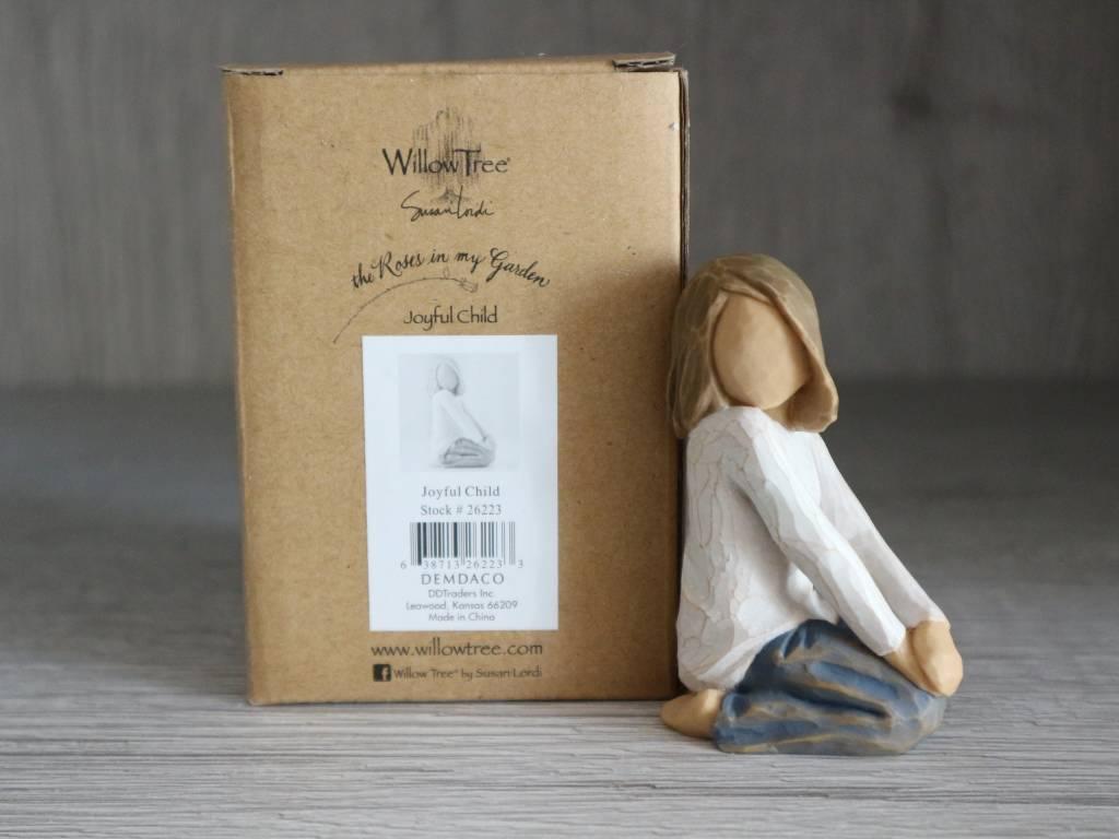 Willow Tree beeldje Joyful Child (meisje)