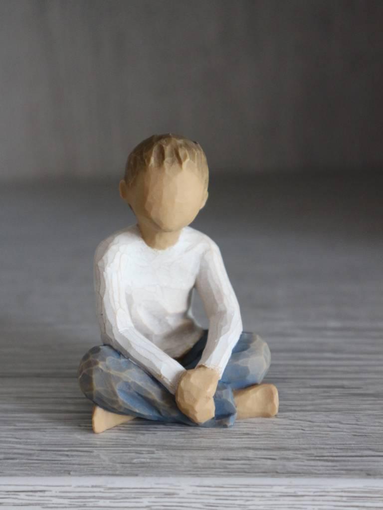 Willow Tree beeldje Imaginative Child (jongen)