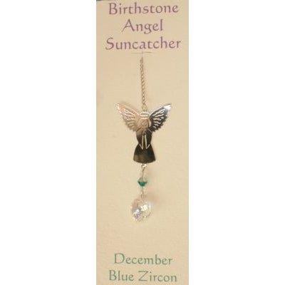 Engel Suncatcher Geboortesteen - December