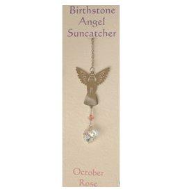 Engel Suncatcher Geboortesteen - Oktober