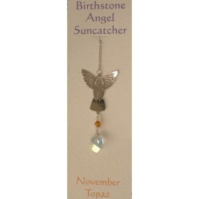 Engel Suncatcher Geboortesteen - November