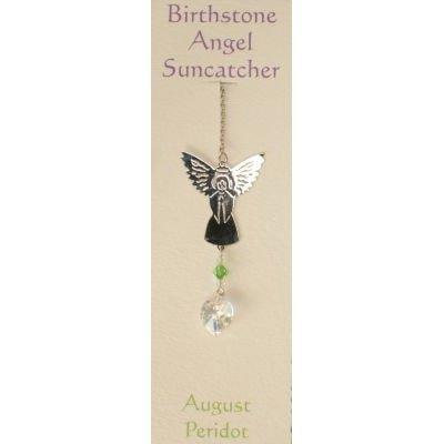 Engel Suncatcher Geboortesteen - Augustus