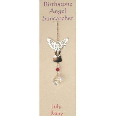 Engel Suncatcher Geboortesteen - Juli