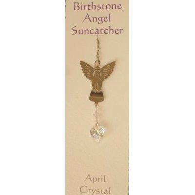 Engel Suncatcher Geboortesteen - April