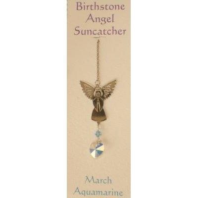 Engel Suncatcher Geboortesteen - Maart
