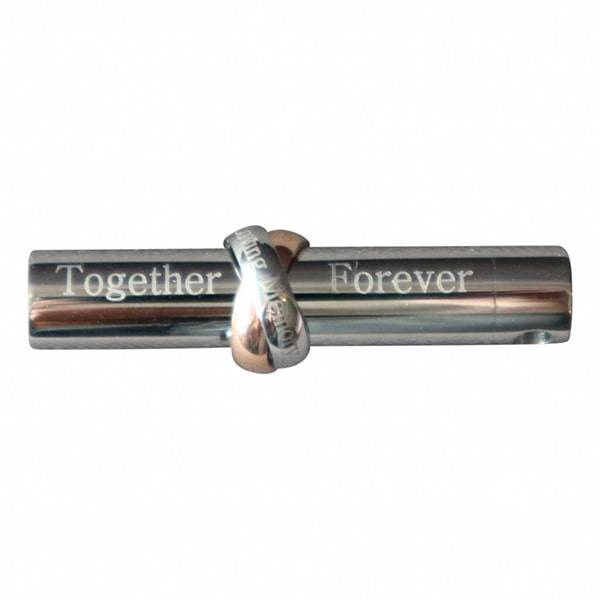 Ashanger Together Forever met ketting