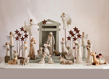 Willow Tree Kerst collectie