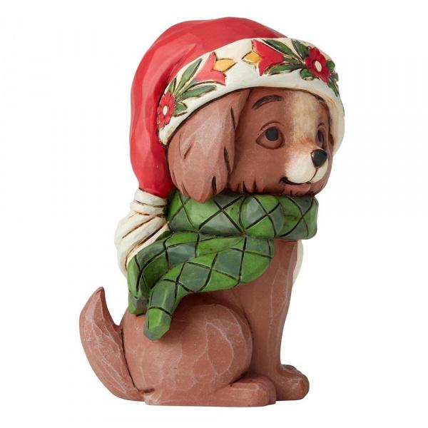 Jim Shore Jim Shore Christmas Puppy Mini