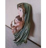 Muurhanger Maria en Jezus