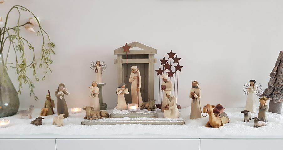 Willow Tree kerstbeeldje De drie Wijzen