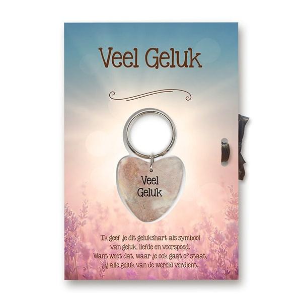 Miko Sleutelhanger giftcard - Veel geluk