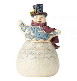 Jim Shore Victorian Snowman with Top Hat
