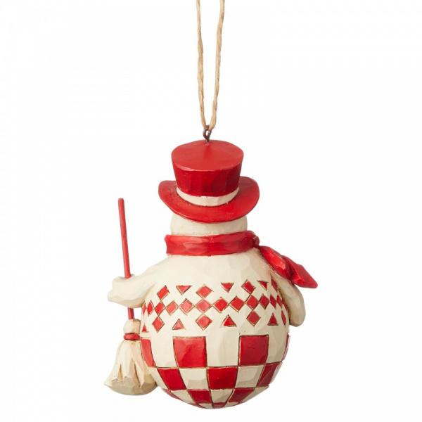 Jim Shore Nordic Noel Snowman  - hanging ornament