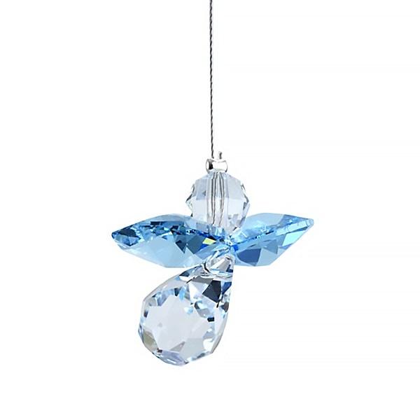 Suncatcher kristal engeltje - maart