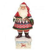 Jim Shore Feeling Festive In The Frost - Lapland Santa