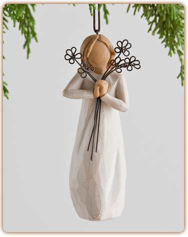 Willow Tree Willow Tree Friendship hanging ornament