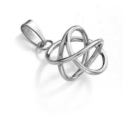 Zilveren Akaija hanger - Bold