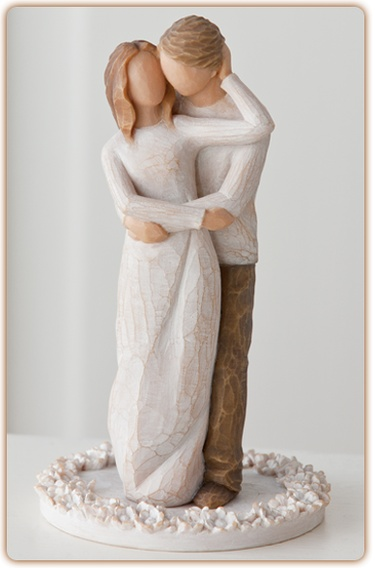 Willow Tree Willow Tree Cake Topper Together