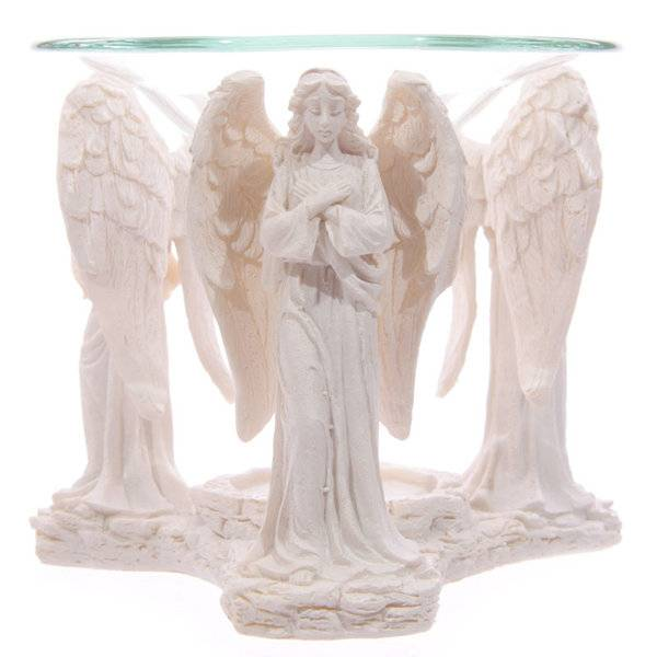 Oliebrander biddende engel