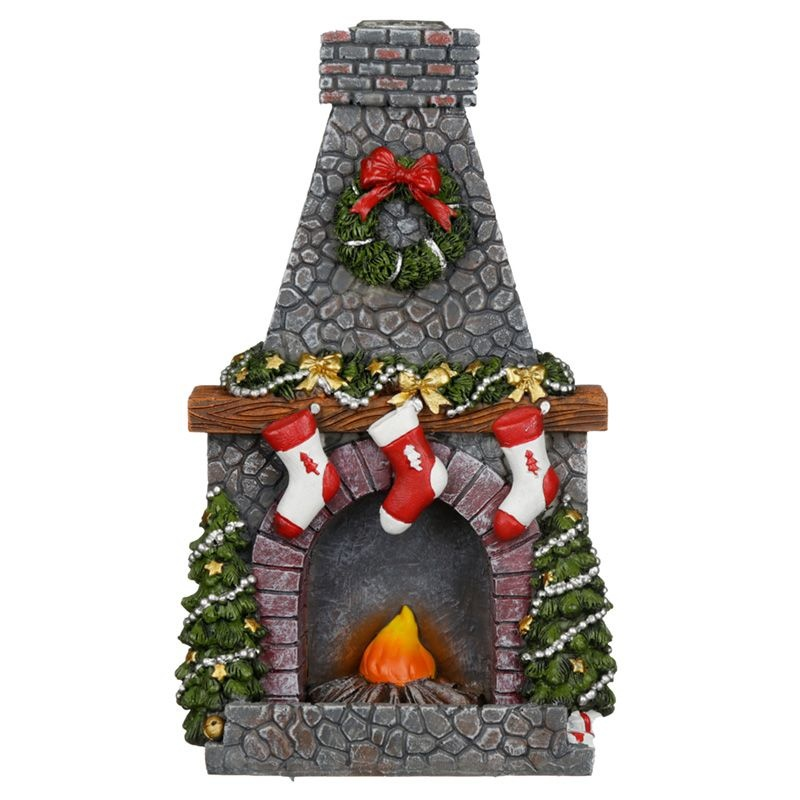 Backflow wierookbrander - Kerst open haard
