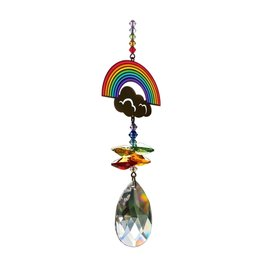 "Suncatcher regenboog ""Thank you"""