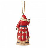 Jim Shore First Noel kerstman - ornament (kersthanger)