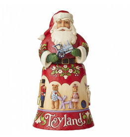 Jim Shore Toyland - kerstman